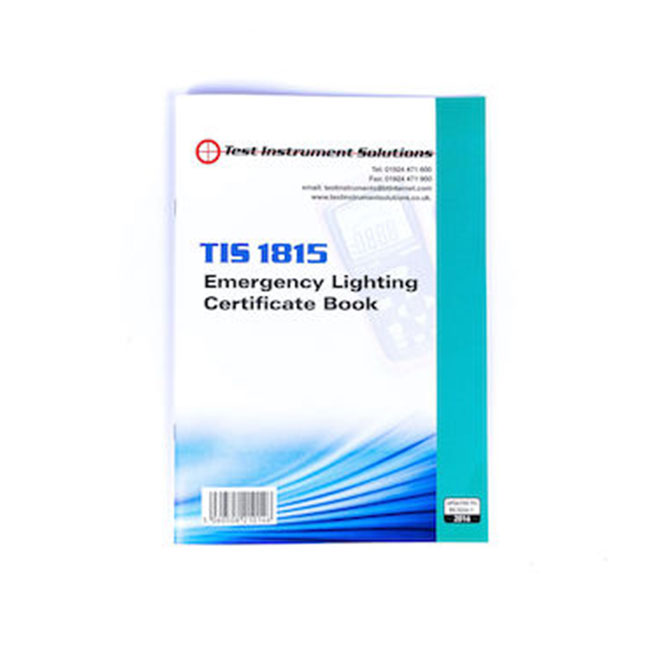 Emergency Lighting Test Certificate Template Mandegarfo
